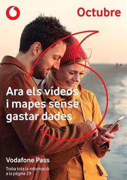 Ofertas de Vodafone  en el folleto de Girona