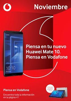 Ofertas de Vodafone  en el folleto de San Bartolomé de Tirajana
