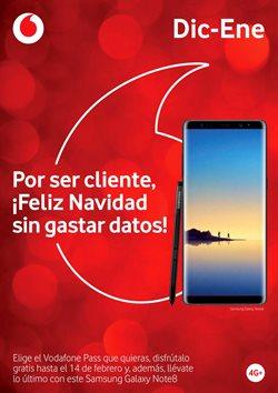 Ofertas de Vodafone  en el folleto de Santa Lucía de Tirajana