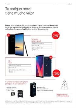 Ofertas de Tarjeta de memoria  en el folleto de Vodafone en Vecindario