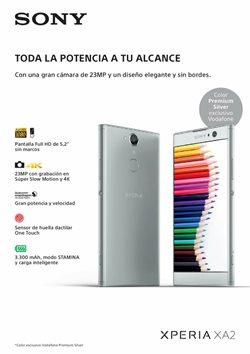 Ofertas de Smartphones Sony  en el folleto de Vodafone en Alcalá de Henares