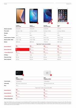 Ofertas de Tablet Samsung  en el folleto de Vodafone en Madrid