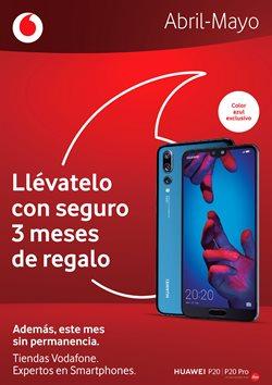 Ofertas de Vodafone  en el folleto de Málaga