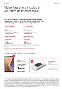 Ofertas de Tablet  en el folleto de Vodafone en Dos Hermanas