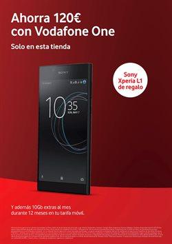 Ofertas de Vodafone  en el folleto de Lucena