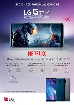 Ofertas de Smartphones LG  en el folleto de Vodafone en Dos Hermanas