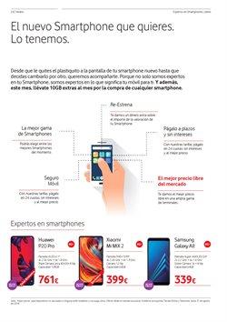 Ofertas de Vodafone  en el folleto de Alcobendas