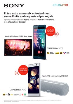Ofertas de Televisores  en el folleto de Vodafone en Palamos