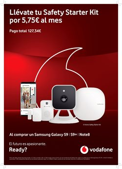 Ofertas de Smartphones Samsung  en el folleto de Vodafone en Vecindario