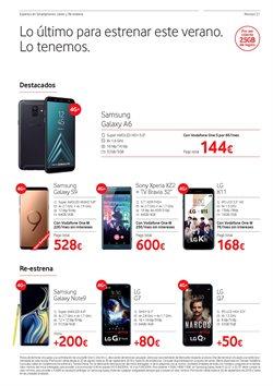 Ofertas de Teléfono móvil  en el folleto de Vodafone en Alcalá de Henares