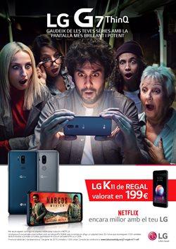Ofertas de LG  en el folleto de Vodafone en Barcelona