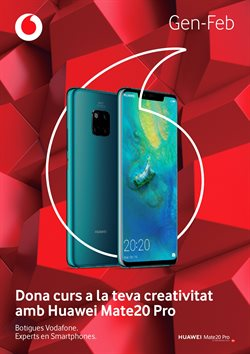 Ofertas de Vodafone  en el folleto de Barcelona