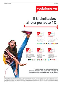 Ofertas de Tarifas Orange internet  en el folleto de Vodafone en León