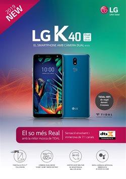 Ofertas de LG  en el folleto de Vodafone en Badalona