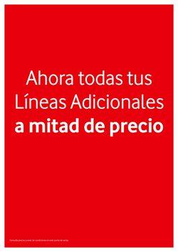 Ofertas de Vodafone  en el folleto de Segovia