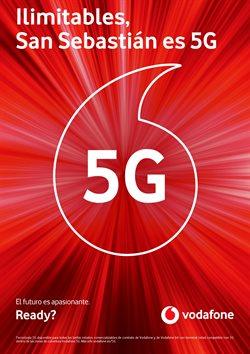 Ofertas de Vodafone  en el folleto de Irún