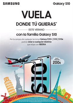 Ofertas de Samsung Galaxy S10 en Vodafone