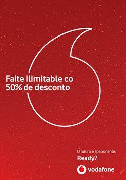 Ofertas de Vodafone  en el folleto de Lugo
