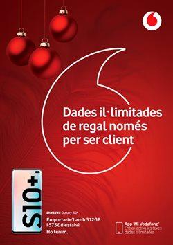 Ofertas de Vodafone  en el folleto de Santa Susanna