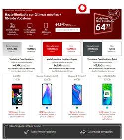 Ofertas de Smartphones Huawei en Vodafone