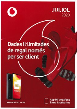 Catálogo Vodafone en Palamos ( 23 días más )