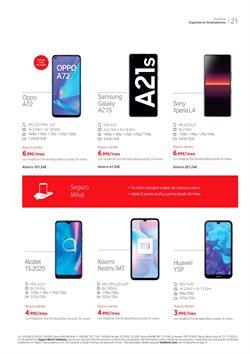 Ofertas de Smartphones Sony en Vodafone