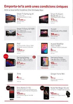 Ofertas de Google Home en Vodafone