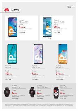 Ofertas de Huawei P30 en Vodafone