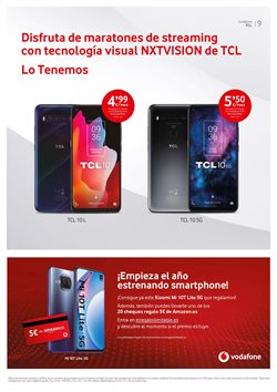 Ofertas de Contratos en Vodafone