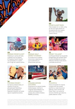 Ofertas de Disney en el catálogo de Halcón Viajes ( Más de un mes)