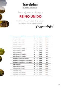Ofertas de Viajes a Escocia  en el folleto de Halcón Viajes en León