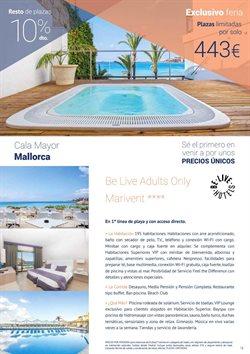 Ofertas de Viajes a Mallorca  en el folleto de Halcón Viajes en Madrid