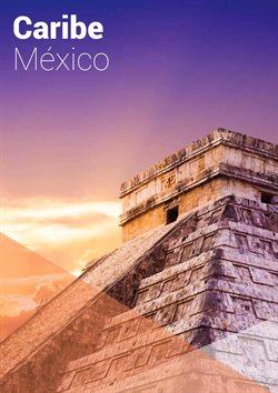 Ofertas de Viajes al Caribe  en el folleto de Halcón Viajes en Madrid