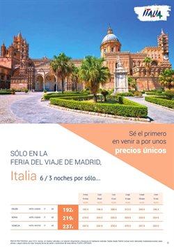 Ofertas de Viajes a Roma  en el folleto de Halcón Viajes en Madrid