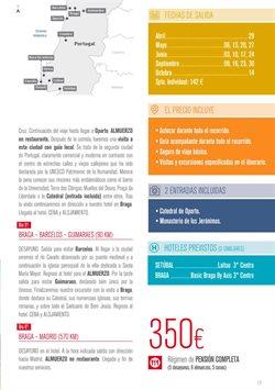 Ofertas de Viajes a Portugal  en el folleto de Halcón Viajes en Barcelona