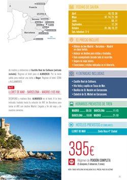 Ofertas de Viajes a Barcelona  en el folleto de Halcón Viajes en Vila-real