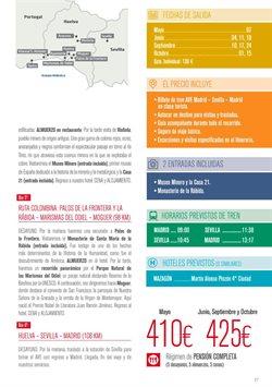Ofertas de Pata Negra  en el folleto de Halcón Viajes en León