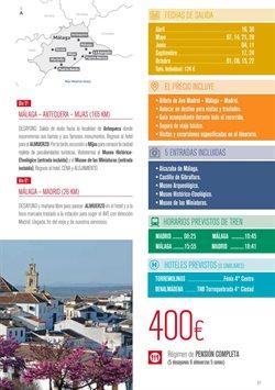 Ofertas de Viajes a Madrid  en el folleto de Halcón Viajes en Madrid