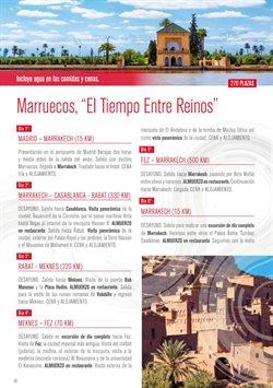 Ofertas de Viajes a Marruecos  en el folleto de Halcón Viajes en Las Palmas de Gran Canaria