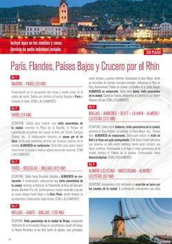 Ofertas de Viajes a París  en el folleto de Halcón Viajes en Madrid