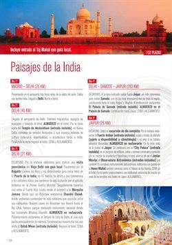Ofertas de Viajes a la India  en el folleto de Halcón Viajes en Telde
