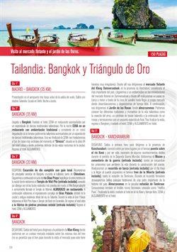 Ofertas de Viajes a Tailandia  en el folleto de Halcón Viajes en León