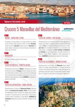 Ofertas de Cruceros  en el folleto de Halcón Viajes en Madrid