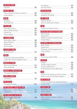 Ofertas de Viajes a Cuba  en el folleto de Halcón Viajes en Madrid