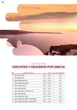 Ofertas de Circuitos  en el folleto de Halcón Viajes en Barcelona