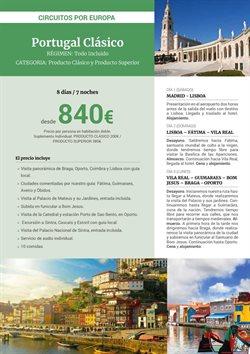Ofertas de Viajes a Lisboa  en el folleto de Halcón Viajes en Madrid