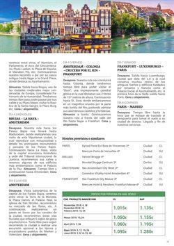 Ofertas de Viajes a Amsterdam  en el folleto de Halcón Viajes en Madrid