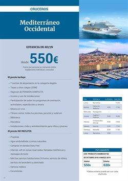 Ofertas de Viajes a Barcelona  en el folleto de Halcón Viajes en Madrid