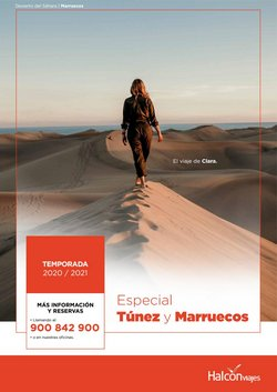 Ofertas de Viajes  en el folleto de Halcón Viajes en Alcañiz