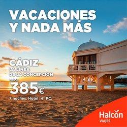 Ofertas de Viajes en el catálogo de Halcón Viajes ( Caduca mañana)